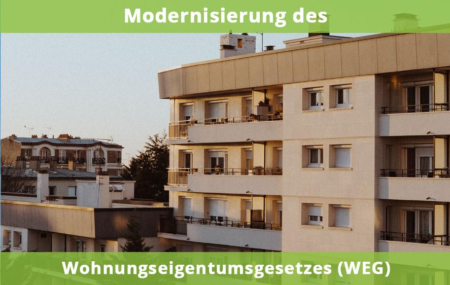 Modernisierung WEG