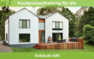 Kaufpreisaufteilung für die Gebäude-AfA
